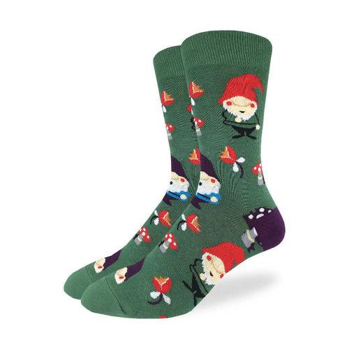 Good Luck Sock Lawn Gnomes Socks