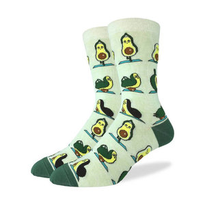 Good Luck Sock Avocado Yoga Socks