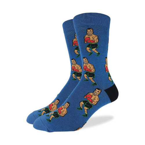 Good Luck Sock Tyson Punch Out Socks