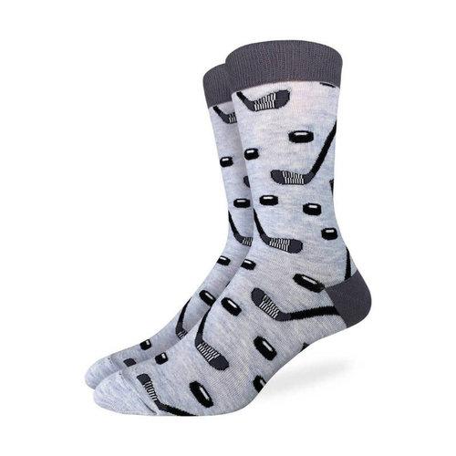 Good Luck Sock Hockey Stick & Puck Socks
