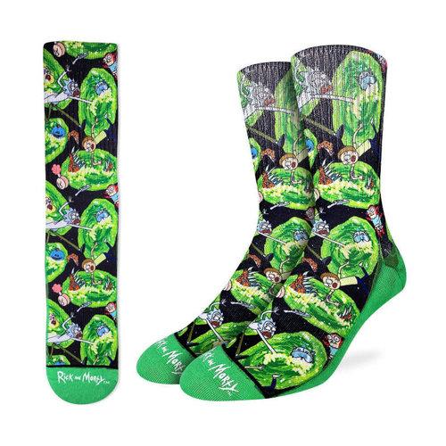 Good Luck Sock Rick & Morty Wormhole Socks
