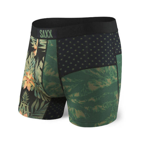 SAXX Vibe Boxer Brief - Canteen Tropics