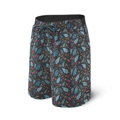 "SAXX Cannonball Swim Shorts 19"" - Pop Flora"