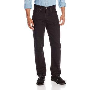 Levis 516 Slim Straight Jeans - Off Black