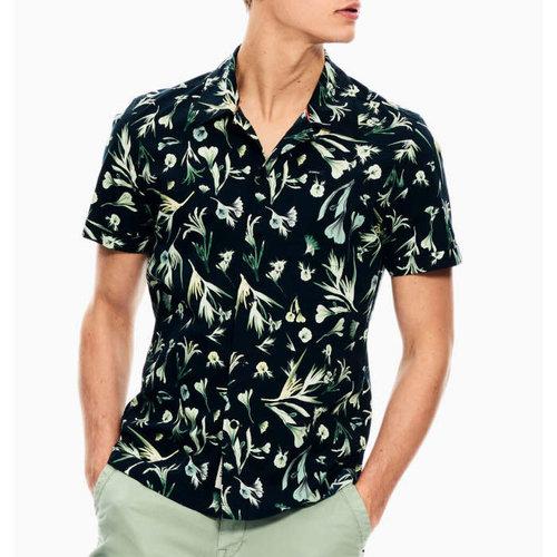 Garcia Allover Floral Print S/S Shirt