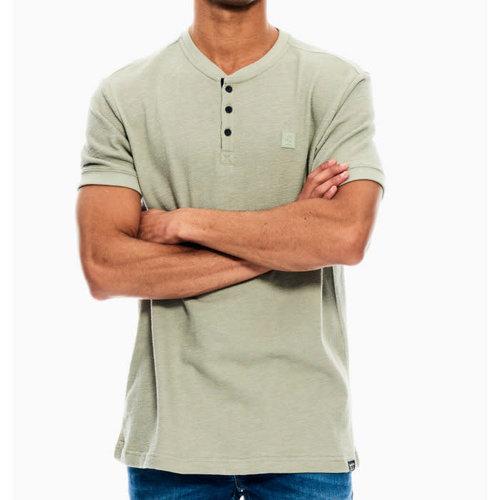 Garcia Textured Henley T-shirt