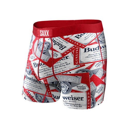 SAXX Vibe Boxer Brief - Budweiser Tossed Label