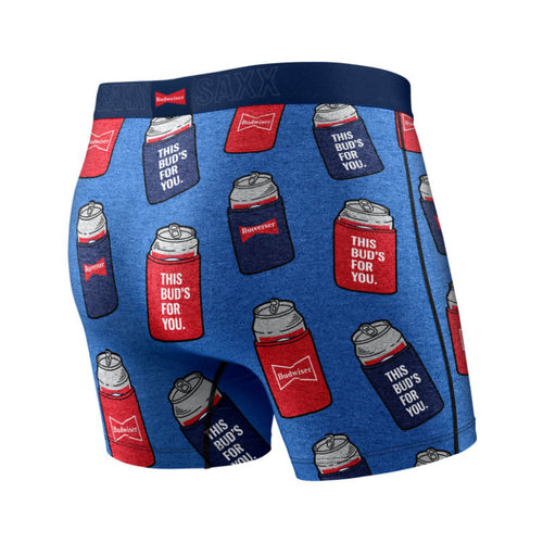 SAXX Vibe Boxer Brief - Budweiser Bud Koozies