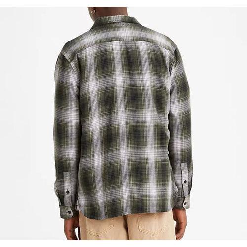 Levis Jackson Worker Overshirt - Olive Night Plaid