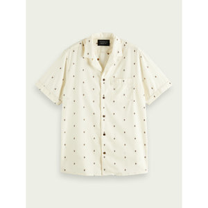 Scotch & Soda Fil Coupe Hawaiian Collar S/S Shirt