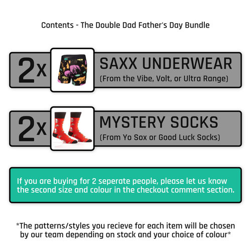 Father's Day Bundle The Double Dad