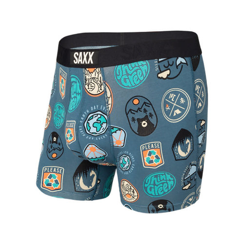SAXX Vibe Boxer Brief - Everyday Is Earth Day