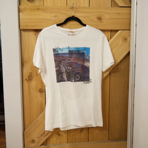 Blend Motorbike Graphic T-Shirt