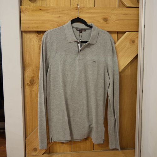 Michael Kors Logo L/S Knitted Polo