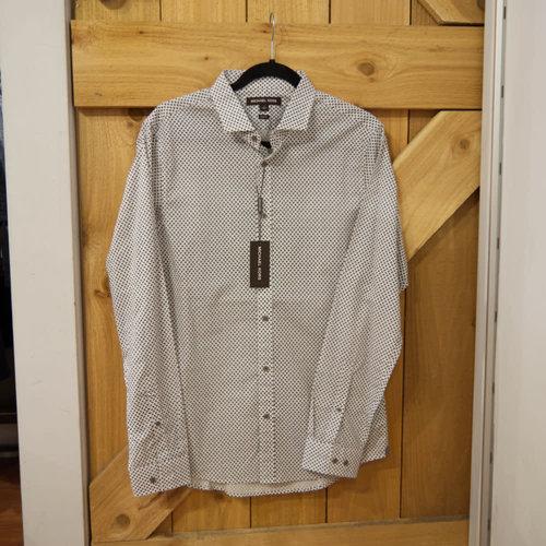 Michael Kors Steel L/S Dress Shirt