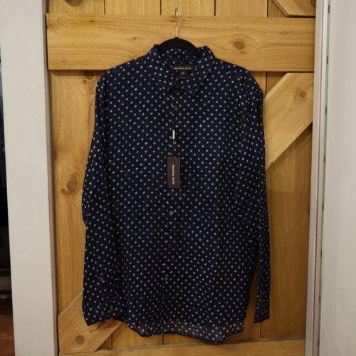 Michael Kors Neil Slim Fit L/S Dress Shirt