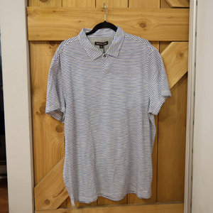 Michael Kors Striped Knitted Polo