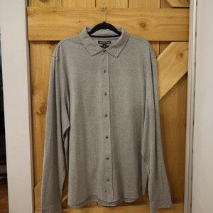 Michael Kors Button-Up L/S Polo