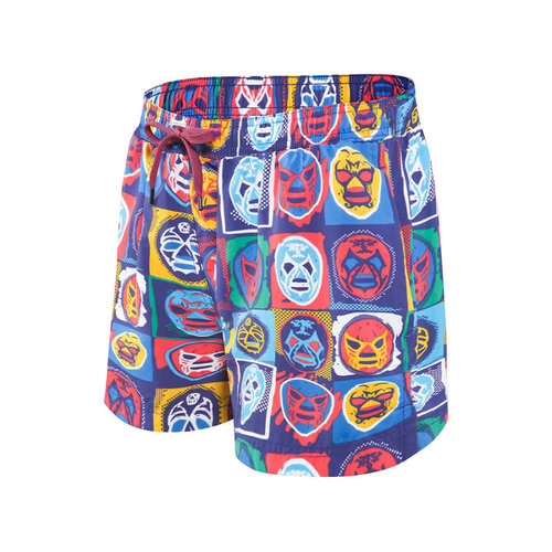 "SAXX Cannonball Swim Shorts 17"" - Lucha Lubre"