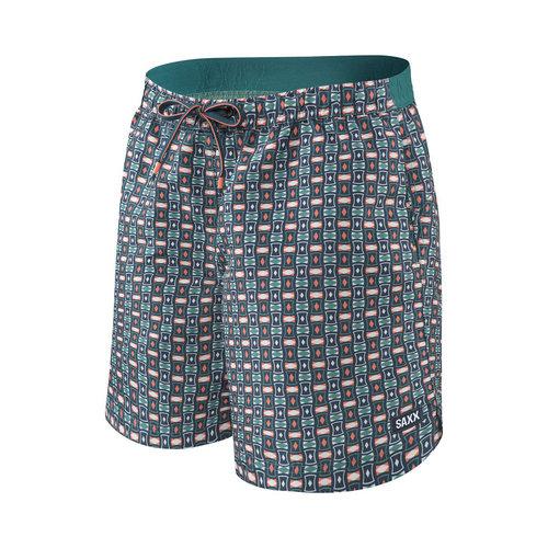 "SAXX Cannonball Swim Shorts 17"" - Oceanic"