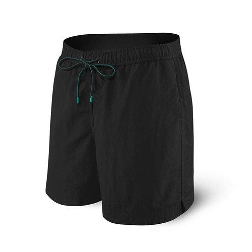 "SAXX Cannonball Swim Shorts 19"" - Black"