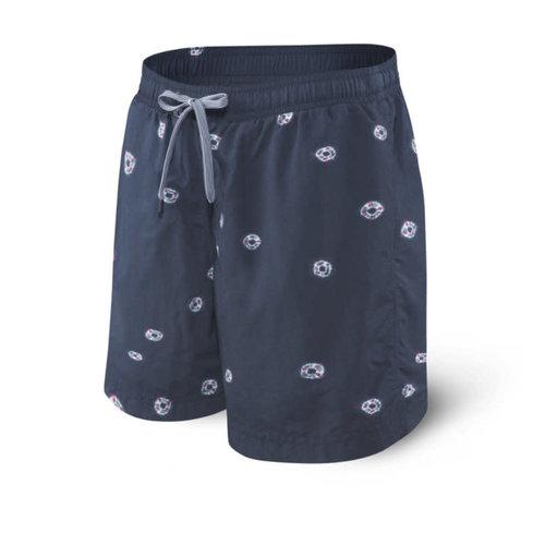"SAXX Cannonball Swim Shorts 17"" - Tie Dye Dot"