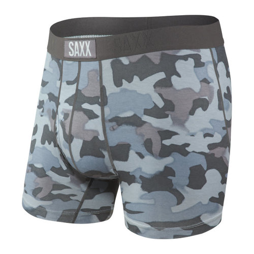 SAXX Ultra Boxer Brief - Graphite Stencil Camo