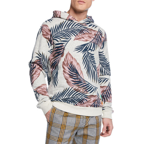 Scotch & Soda Floral Print Pullover Hoodie