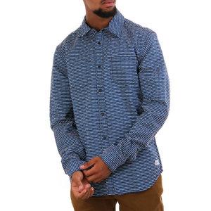 Scotch & Soda Blauw Stripe Shirt