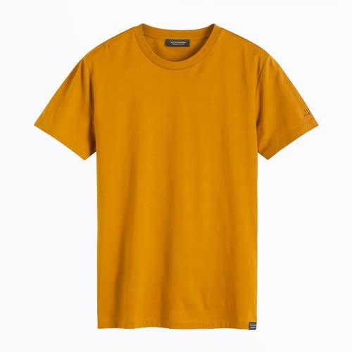Scotch & Soda Tonal Stripe Cotton T-shirt