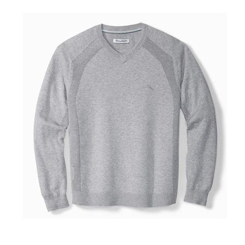 Tommy Bahama Island Zone Coolside V-Neck Knit Sweater