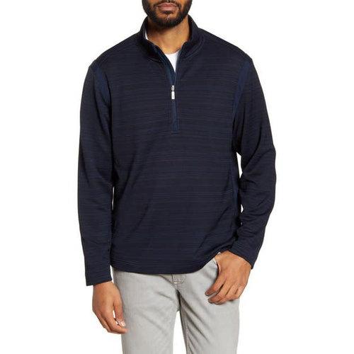 Tommy Bahama Tidal Stripe Half-Zip Pullover