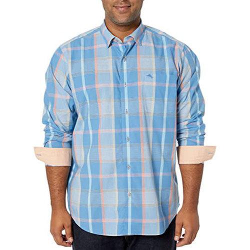 Tommy Bahama Newport Alterra Plaid Shirt