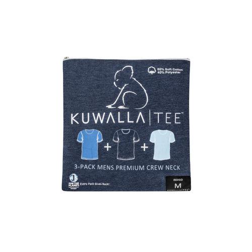 Kuwalla-tee Crew Neck 3 Pack - Indigo