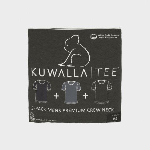 Kuwalla-tee Crew Neck 3 Pack - Camo