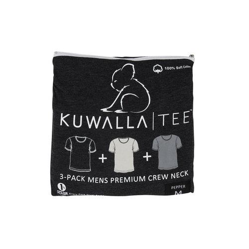 Kuwalla-tee Crew Neck 3 Pack - Pepper