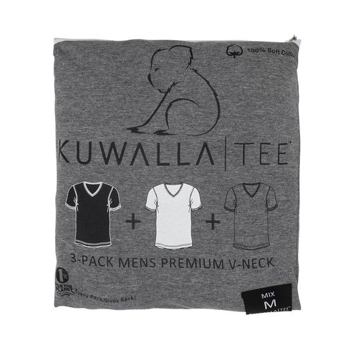 Kuwalla-tee V Neck 3 Pack - Mix