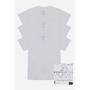Kuwalla-tee V Neck 3 Pack - Pure White