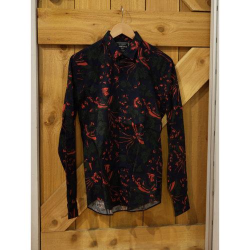 Scotch & Soda Bird & Flower Dress Shirt