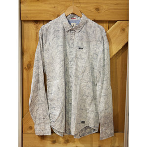 Garcia Patterned Dress Shirt