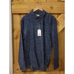 Ben Sherman Seagull Print L/S Shirt