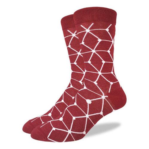 Good Luck Sock Red Matrix Socks