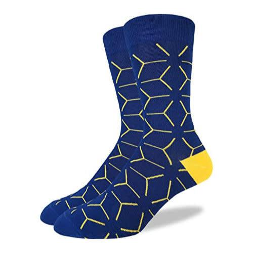 Good Luck Sock Blue Matrix Socks