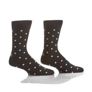 Yo Sox Black Polka Dot Socks