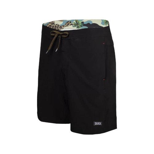 "SAXX Betawave Swim Shorts 19"" - Black"