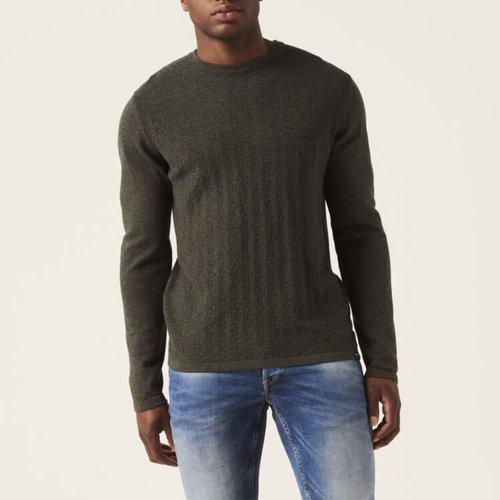 Garcia Chevron Knit Sweater