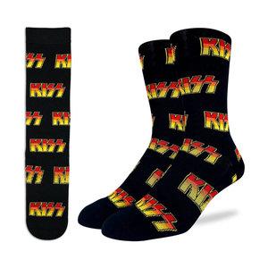 Good Luck Sock KISS Logo Socks