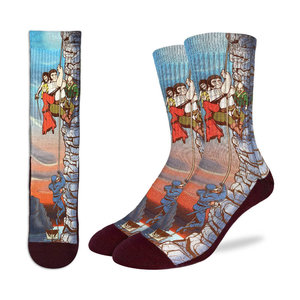 Good Luck Sock Princess Bride Cliffs of Insanity Socks