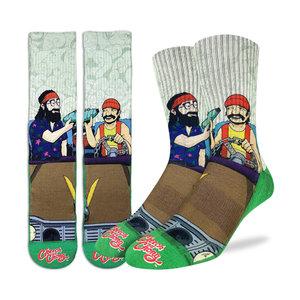 Good Luck Sock Cheech & Chong Pass the Blunt Socks
