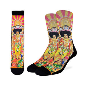 Good Luck Sock Jimi Hendrix Bold As Love Socks